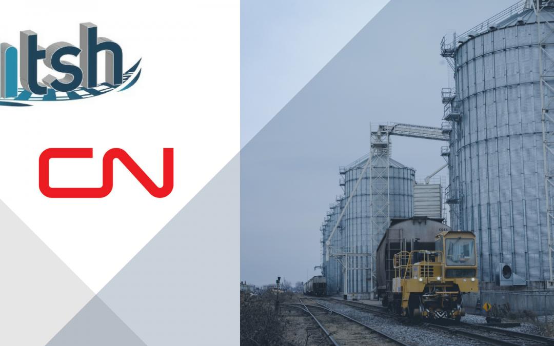 Jefo Logistique, par sa division Transbordement St-Hyacinthe, obtient l'accréditation du CN pour des unités de 100 wagons