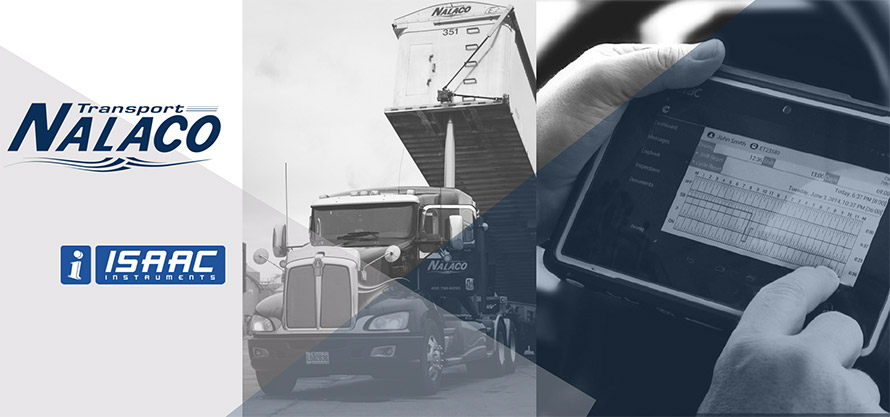 Transport Nalaco goes ahead with the ISAAC Instruments telemetry solution