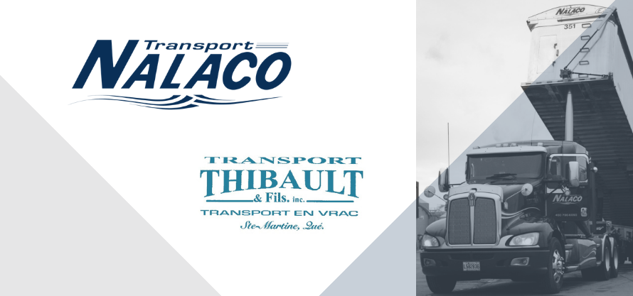 Transport Nalaco fait l'acquisition de Transport Yves Thibault