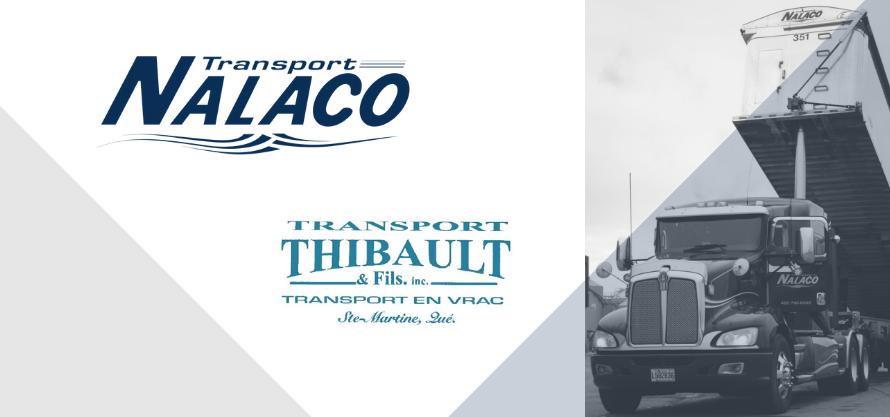 Transport Nalaco fait l'acquisition de Transport Yves Thibault